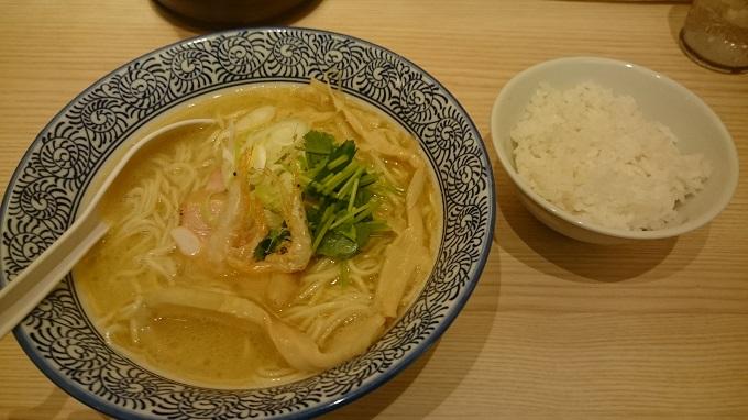 麺屋つくつく_白海老らーめん01