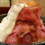 【混雑回避】秋葉原で人気!山みたいなローストビーフ丼を食べてきた!
