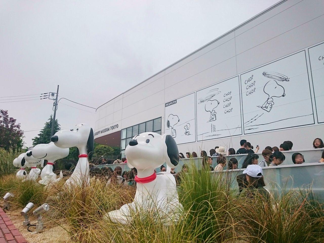 スヌーピーミュージアム_外の展示2