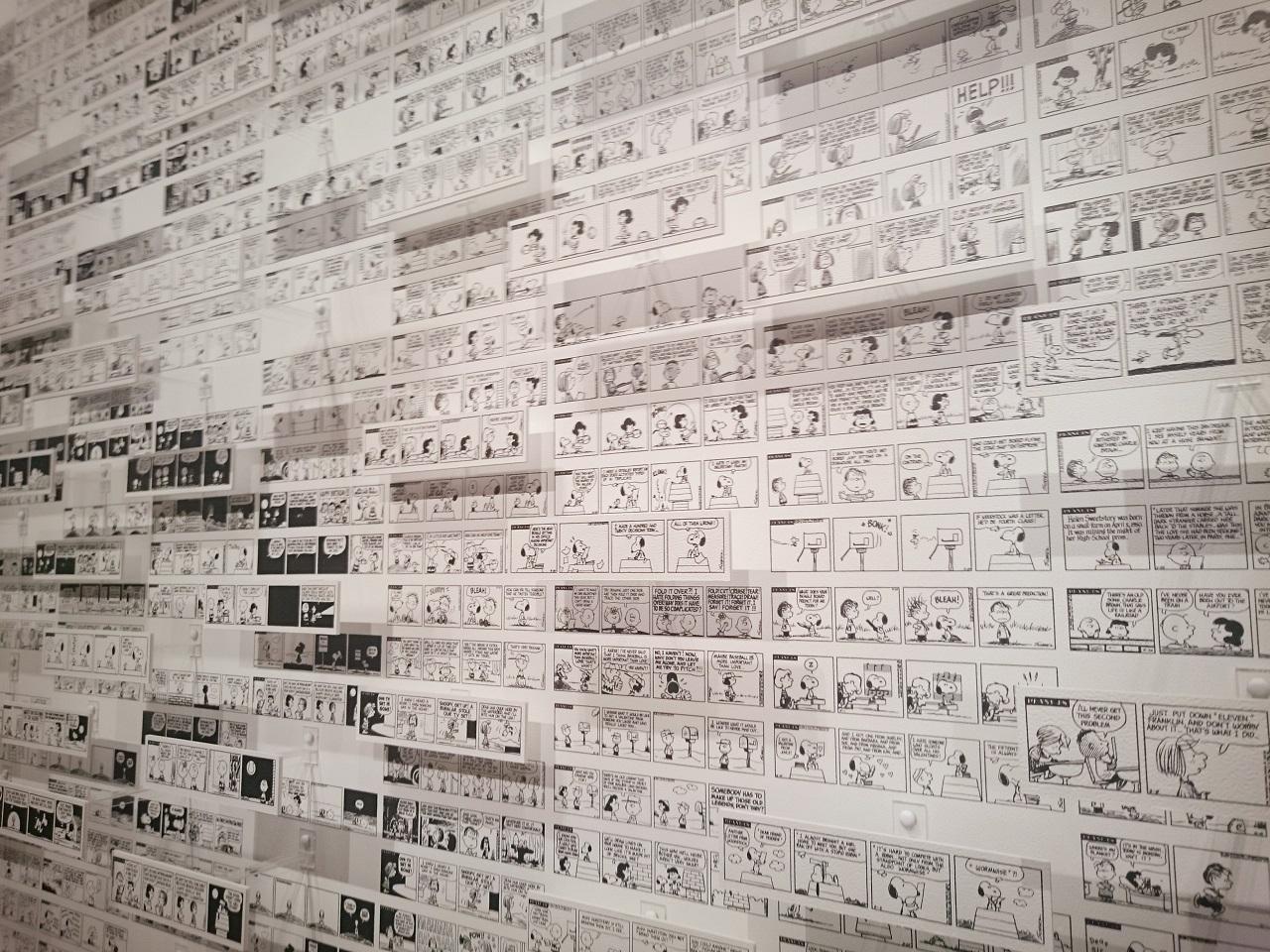 スヌーピーミュージアム_3Dモザイクアート2