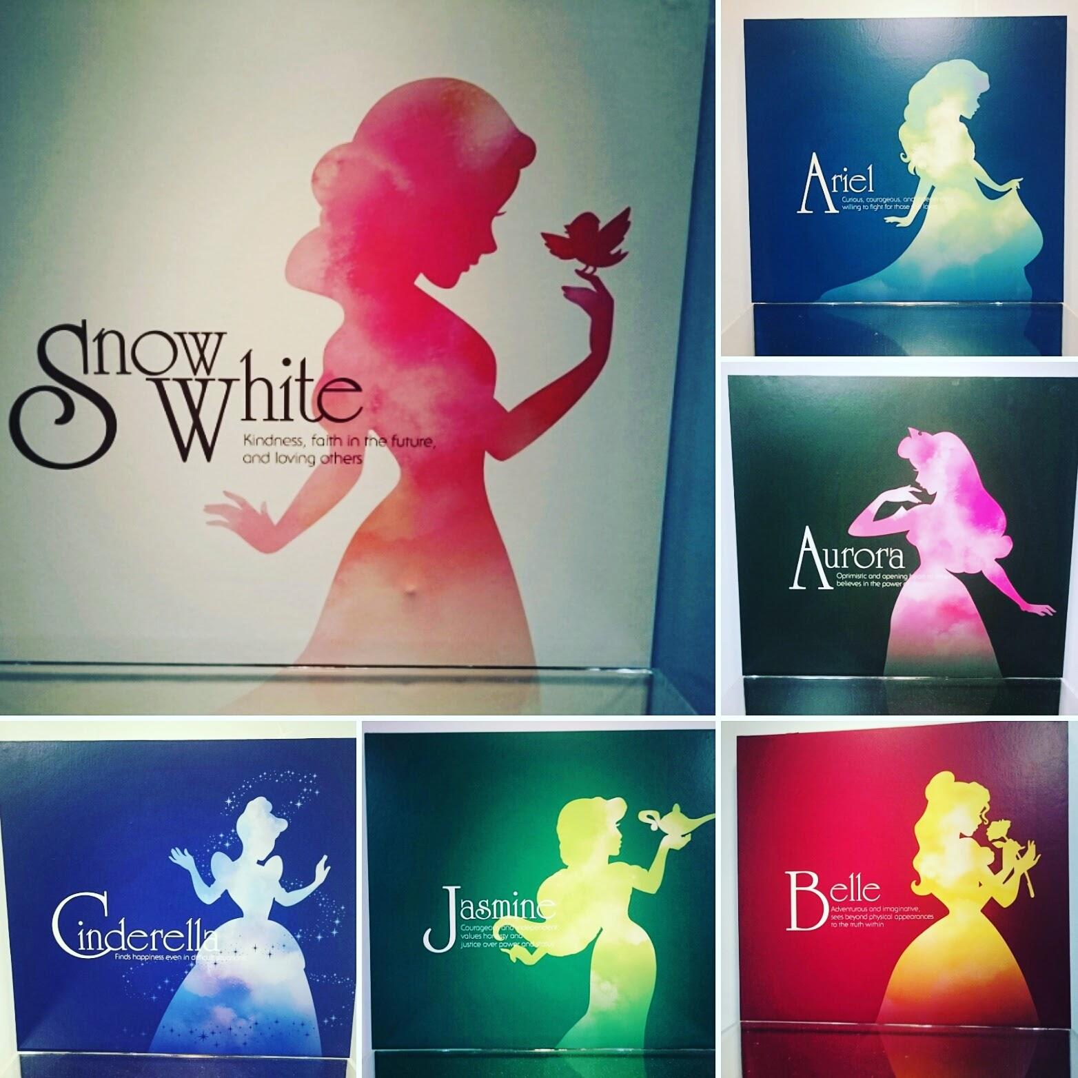ディズニープリンセスとアナと雪の女王展_プリンセス