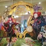 グッズ販売と衣装を展示!「アリス・イン・ワンダーランド」の世界 at GINZA MITSUKOSHI