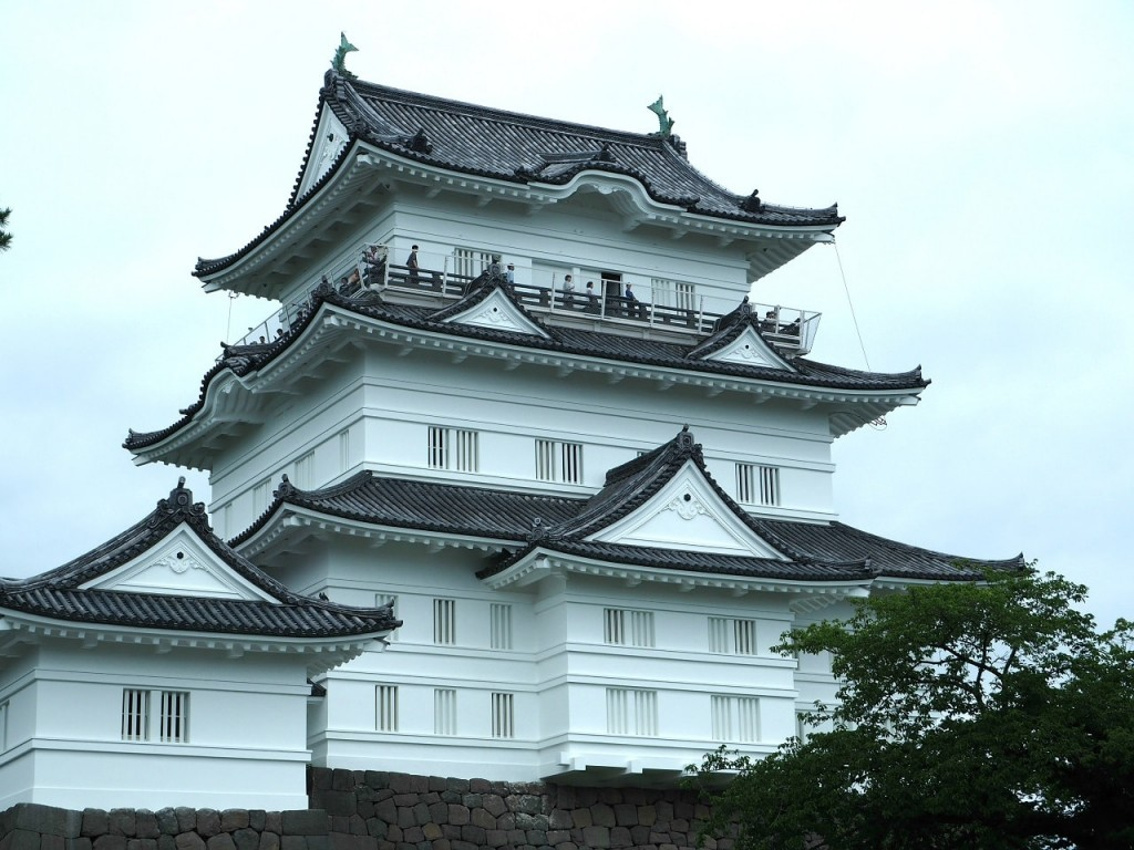 白く美しい小田原城を観光!天守閣の中も外も見ごたえ抜群!