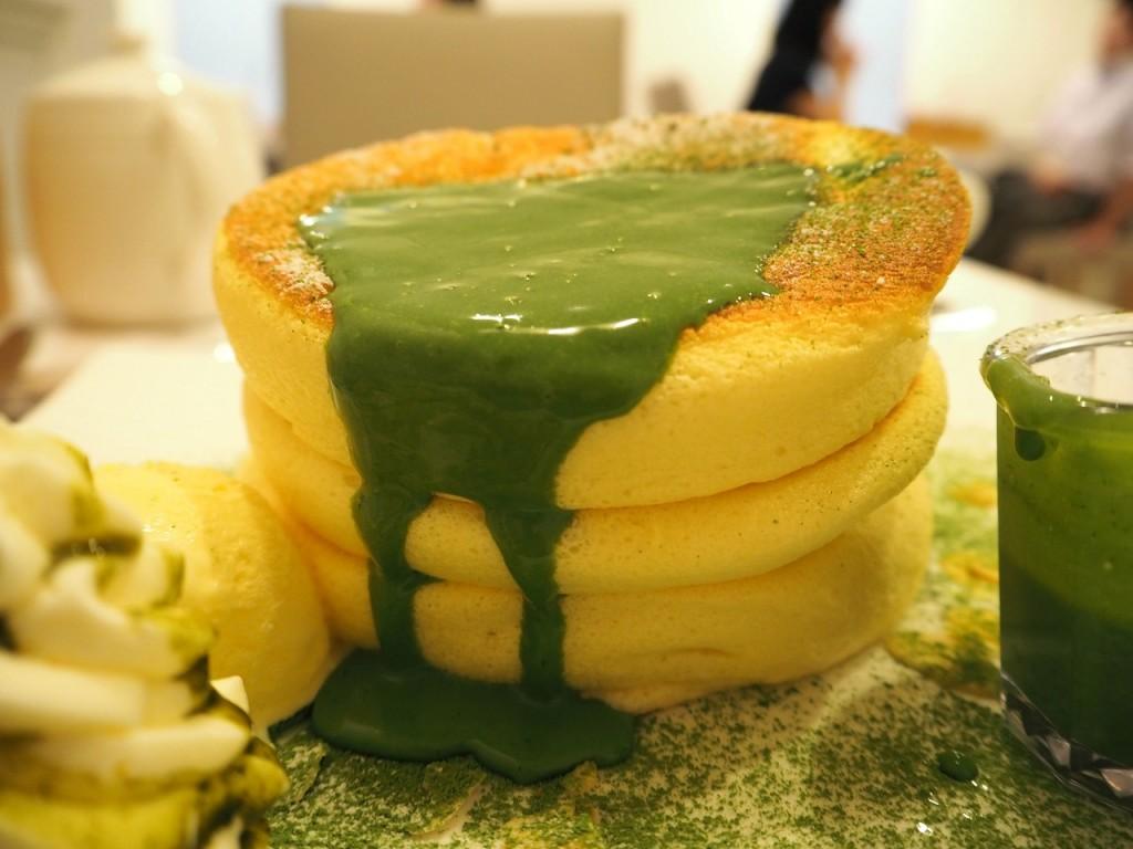 【京都】Fleur祇園店限定!抹茶のパンケーキを食べてきた!