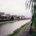 梅雨の京都観光。写ルンですを携えて。
