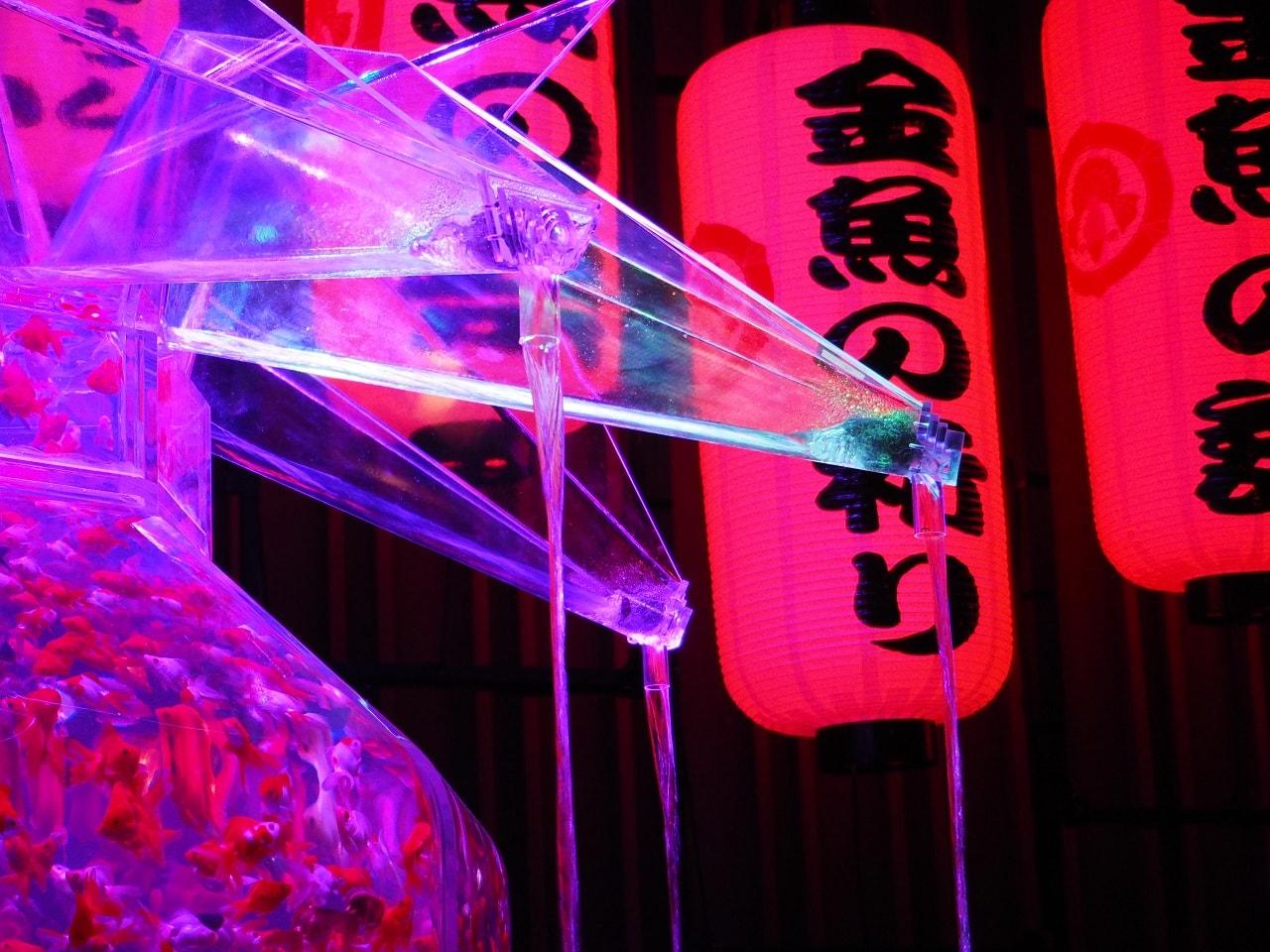 日本橋・アートアクアリウム2016_超・花魁4