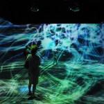 宇宙と芸術展の感想:チームラボの作品は期待を裏切らない!