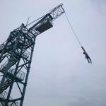 頭から落ちるように。よみうりランドでバンジージャンプを体験!