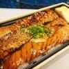 東京駅構内で買えるお弁当「大とろサーモン蒲焼丼」が絶品!