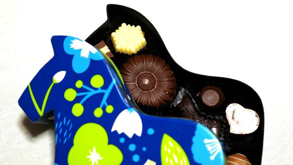 リッカティルのチョコで北欧を演出! ダーラナホースを買ってみた