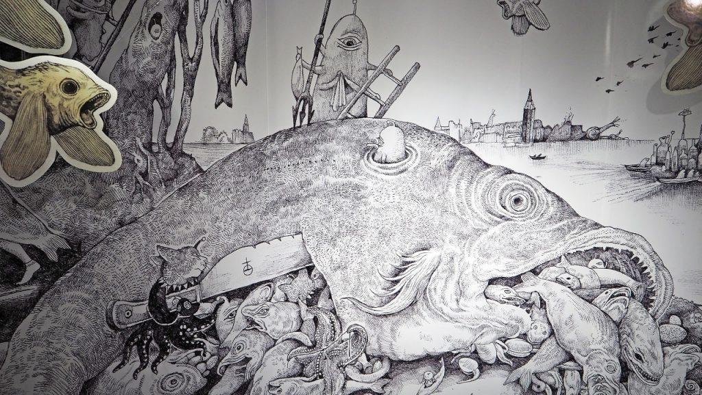 ヒグチユウコさんの原画展が開催! バベルの塔展とのコラボもあるよ
