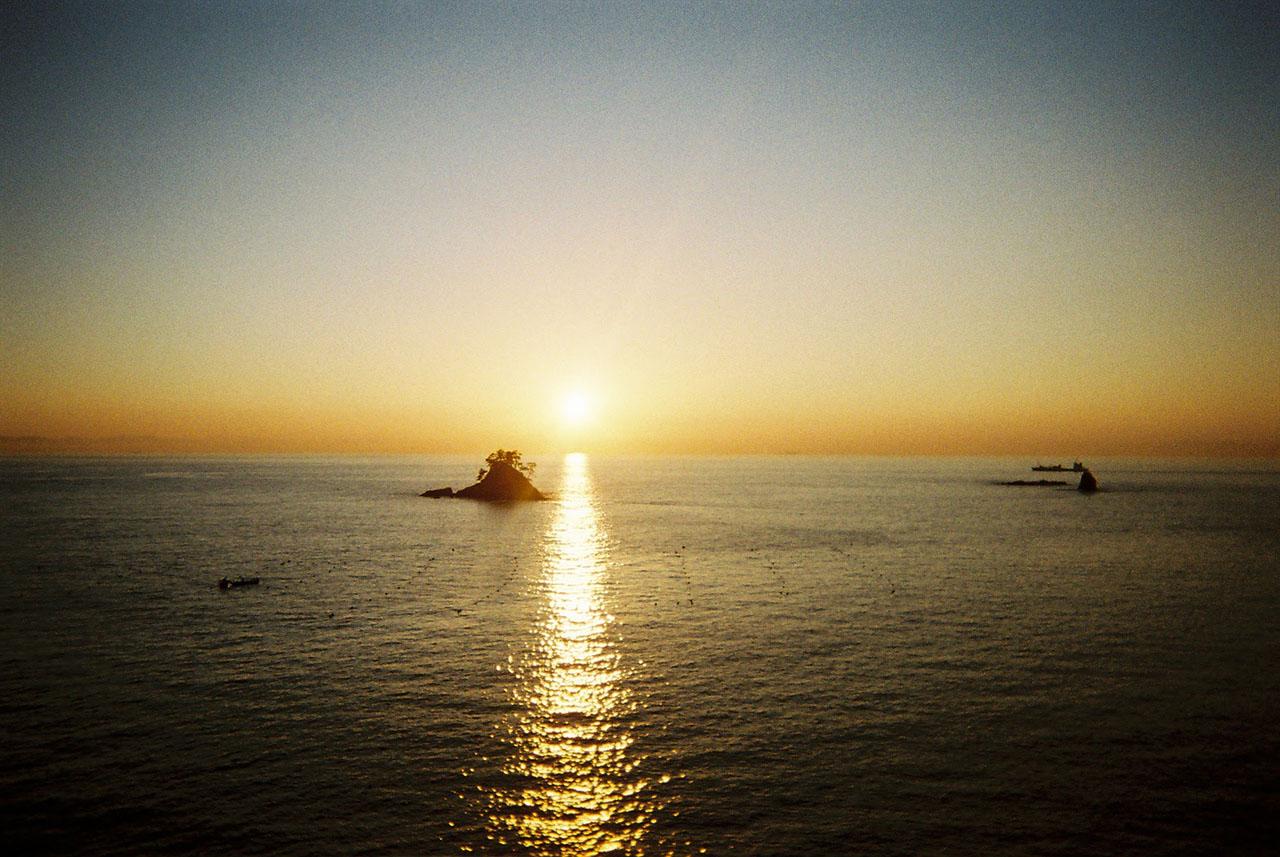 日間賀島・篠島を観光。写ルンですを携えて。